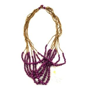 Eight strand necklace